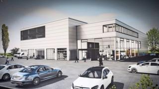 Mercedes Benz PKW-Servicebetrieb Stuttgart Bild 1