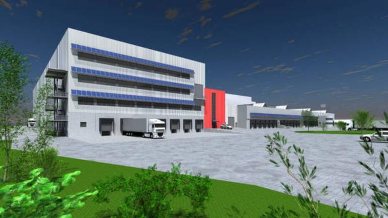 2-geschossiges Logistikzentrum Ludwigsfelde
