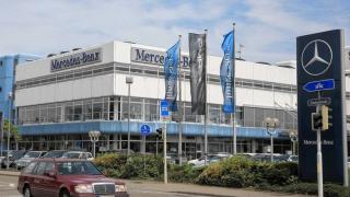 Mercedes Benz PKW-Center Mannheim Bild 1