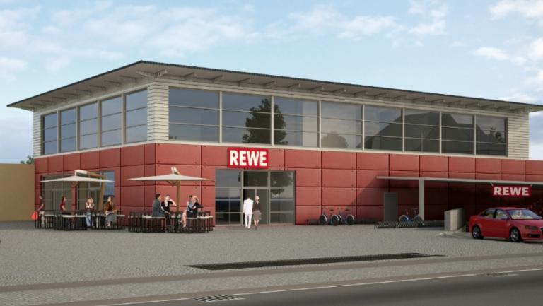 Lebensmittelmarkt Rewe Nieder-Eschbach