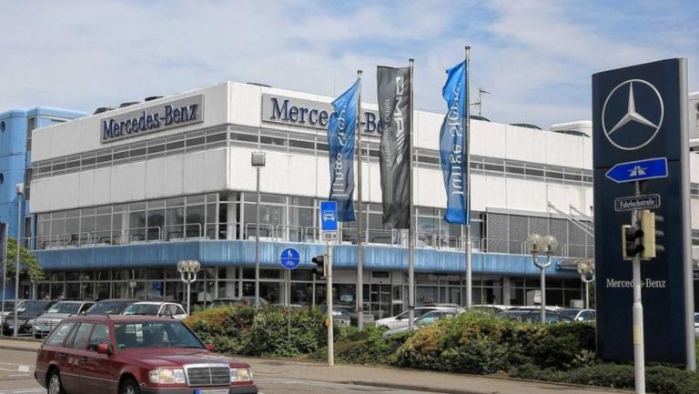 Mercedes Benz PKW-Center Mannheim