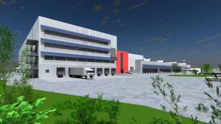 2-geschossiges Logistikzentrum Ludwigsfelde Bild 1