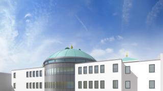 Marokkanisches Kulturzentrum Taqwa Moschee Frankfurt Bild 1