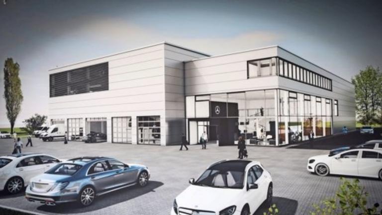 Mercedes Benz PKW-Servicebetrieb Stuttgart